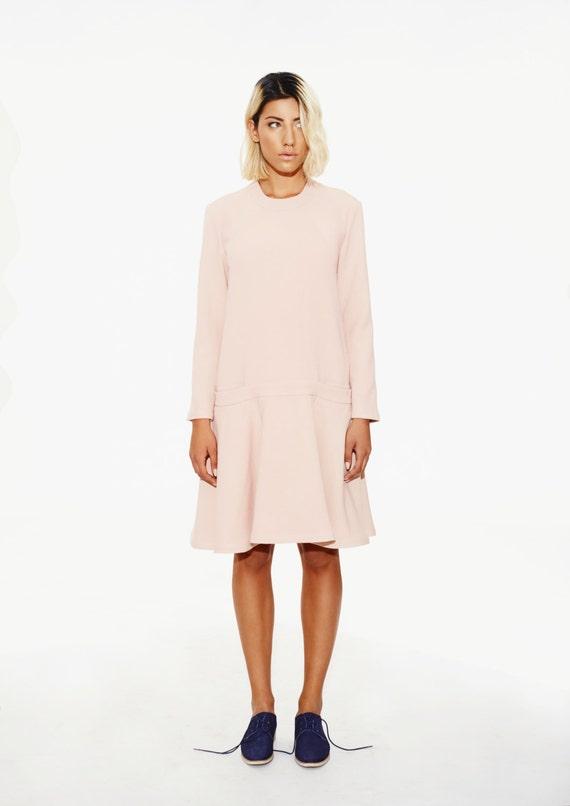 Sukienka Rumieniec Damskie Różowa Sukienka Odzież Plus Size Etsy