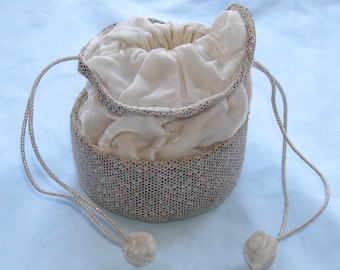 Vintage 1950s dorothy-style evening bag