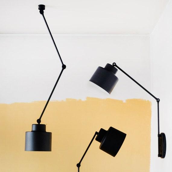 Bewegliche Deckenleuchte Lampe Mit Flexiblen Armen Metall Etsy