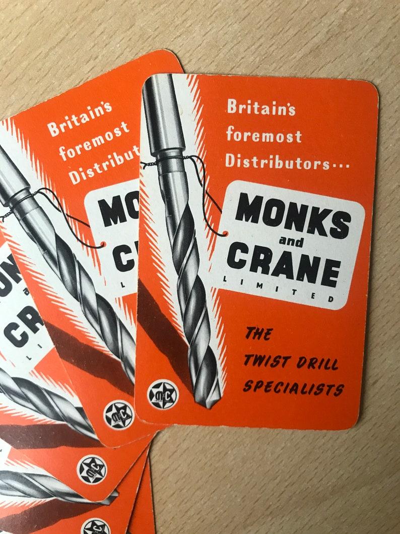 Vintage Advertising Playing Cards 5 Pack Orange Ephemera Scrapbook Junk Journal Smash Books Travel Journal Snail Mail