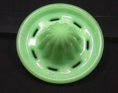 A Vintage 1940 39 s Jadeite Jeanette Slotted Reamer Ready to Use or Collect as-is