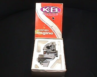 K&BMarine 3.5 Engine in it's Original Box with an Extra Prop, and Ready to Use