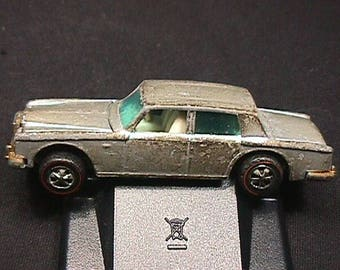 Vintage 1969 Hot Wheels Rolls-Royce Silver Shadow Complete & Played With