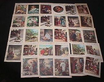 Twenty Nine Religious Child's Sunday School Booklets from 1934