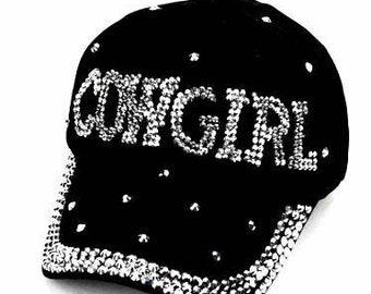 c691f2b9b57 Bling cowgirl hat