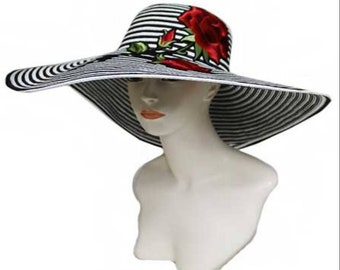 266b8991eed Flower sun hat