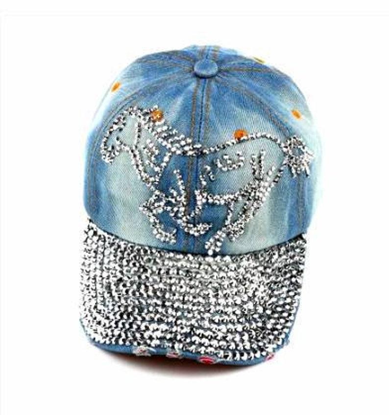 70b2deba804b5 Cap Baseball Rodeo Cowgirl Western Cowboy Horse Hat