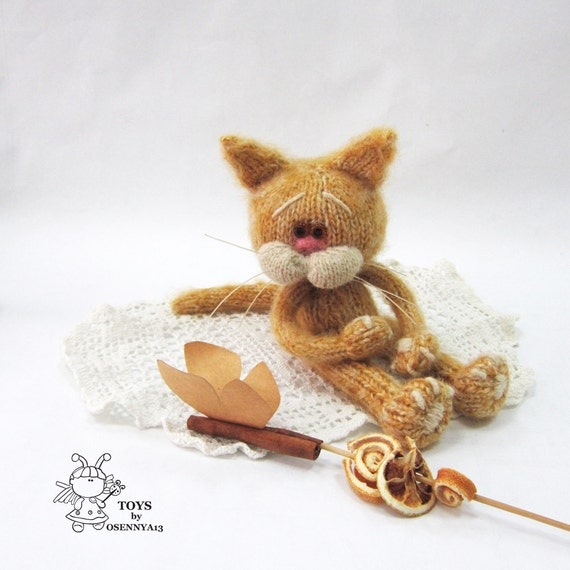 Crochet Amineko Cat with Free Pattern   570x570