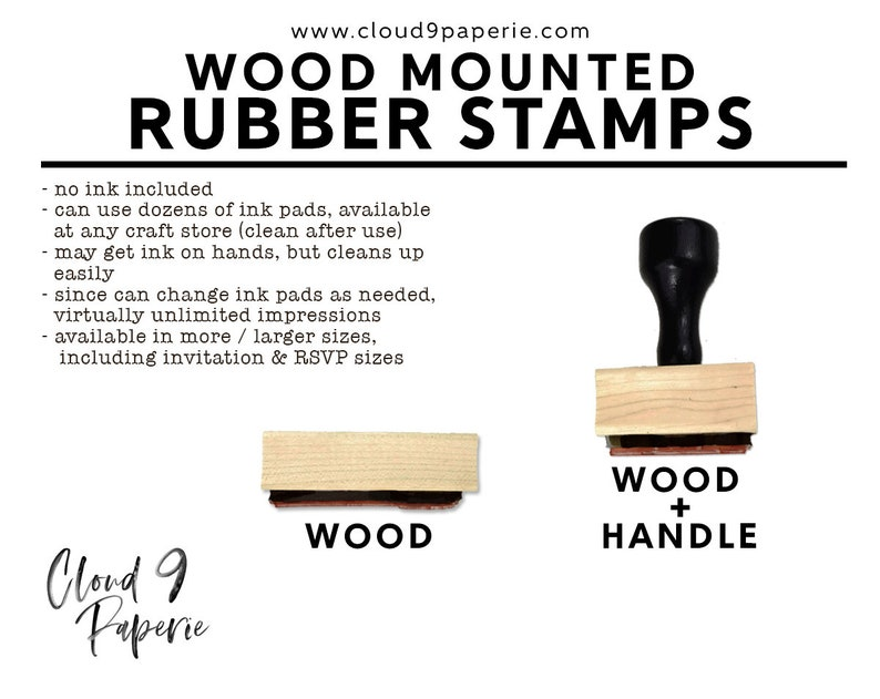 Return Address Wood Mounted Stamp Custom Address Stamp S053W Holiday Address Stamp Christmas Rubber Stamp Christmas Address Stamp