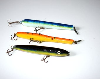 Old fishing lures   Etsy