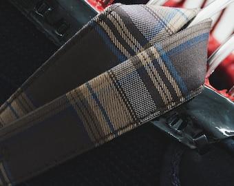 Tartan Men Chichikawa Brown / Kendo Chichikawa / Kendo Bogu Men accessories/ Martial Arts accessories / In stock ready to ship