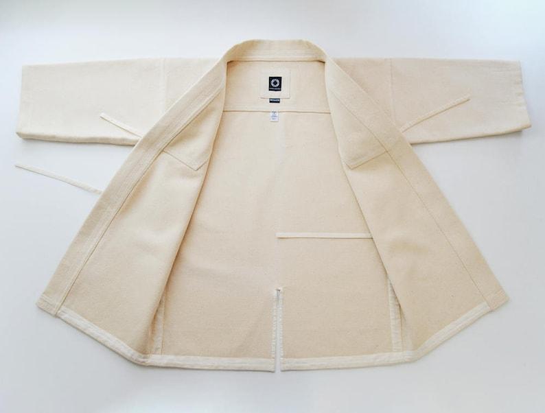 Kendogi Unbleached Extra Heavy  Kendo Iaido Aikido  Keikogi  Kendo jacket  Martial Arts Gi  In stock ready to ship  Budo Collection