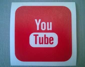 Social Media Icons - Individual (Rounded Square) - YouTube