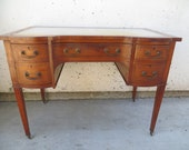 Antique Inlaid Edwardian Desk
