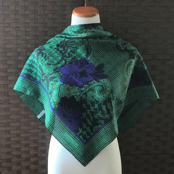 Christian Dior Echarpes Silk Scarf Rolled Hem 31 I