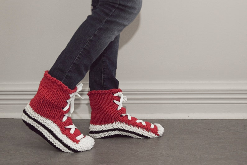 6cead4482166 Knitted slippers converse slippers converse socks knitted