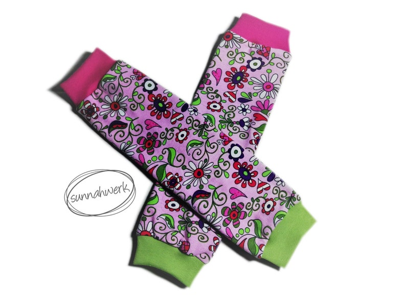 Leg warmers Wildflower for carrying children / to image 0
