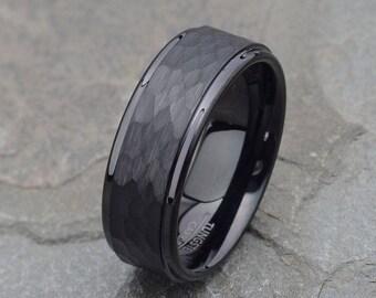 Mens wedding ring | Etsy