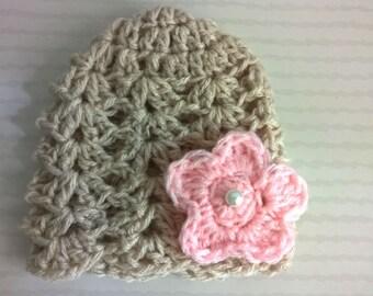 Bonnet baby wool