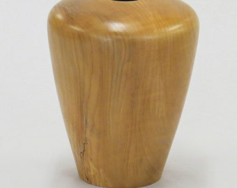 "Big Leaf Oregon Maple hollow form.  4 1/4"" diameter (max), 6"" tall"