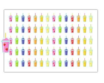 Fruit Smoothie Planner Stickers, Sticker Sale, 8789