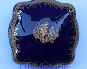 Limoges cobalt blue | Etsy