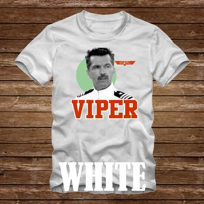 46ff807f VIPER Top Gun Movie Tshirt Adult sizes fun 80s charachter | Etsy