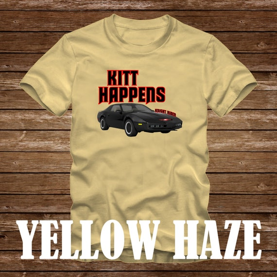 KITT Happens Funny Men's T-shirt - many colors - S to 3XL