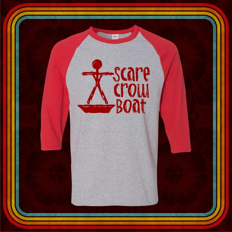 412a8aab0042a SCARECROW BOAT Band - Premium T-Shirt - Many Color Options -  Ringers/Raglans/Cottons/Blends/Tank Tops - parks and recreation mouse rat