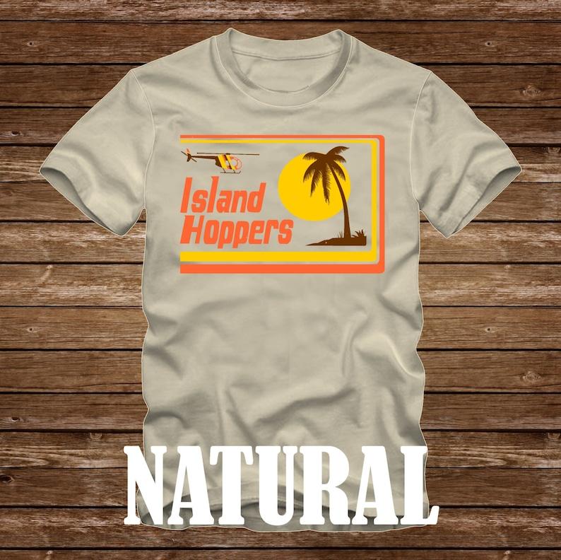 f34c75921 ISLAND HOPPERS Magnum P.I. Tshirt Adult sizes fun 80s Tv | Etsy