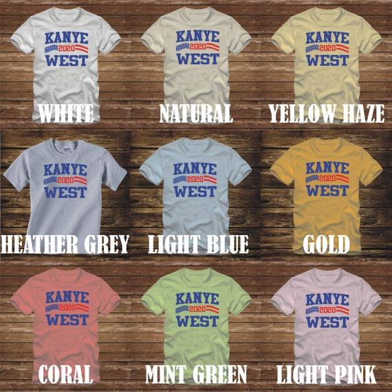 Te koop: Kanye for president T shirts