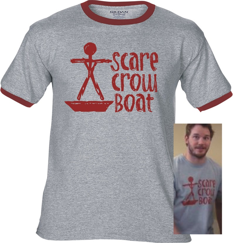 5a9ba0285471a SCARECROW BOAT Band - Premium T-Shirt - Many Color Options - Ringers /  Cottons / Blends / Tank Tops - mouse rat parks and rec andy dwyer