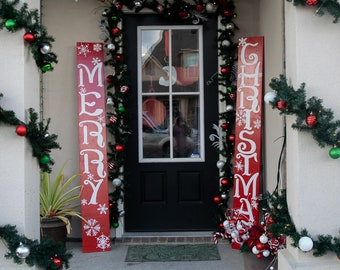 Outdoor Christmas Decorations Etsy