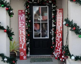Outdoor Christmas Decorations, Merry Christmas, Christmas Decoration,  Christmas Sign, Holiday Sign, Front Door Decor, Xmas Decorations