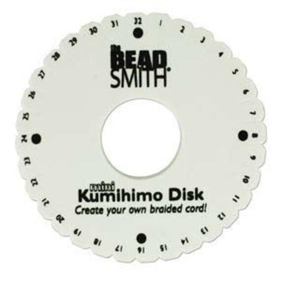 Mini 32-Slot Kumihimo Disk 4.25 inch Standard Thickness   Etsy
