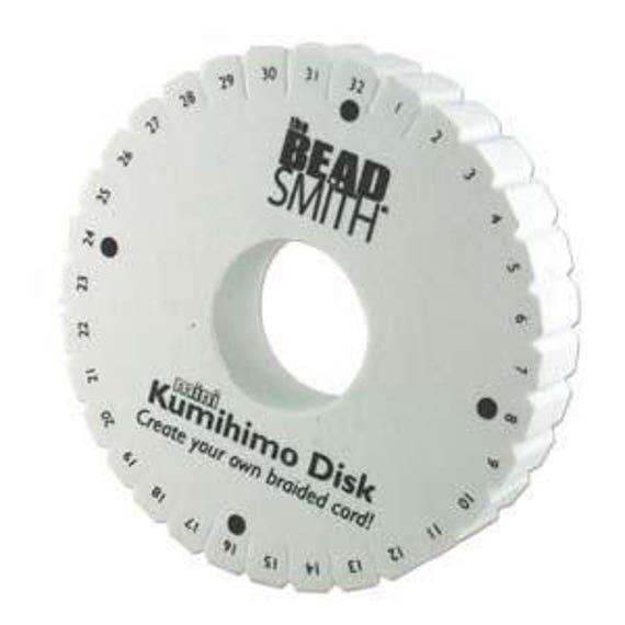 4.25 inch Thick Mini 32-Slot Kumihimo Disk Double-Density | Etsy