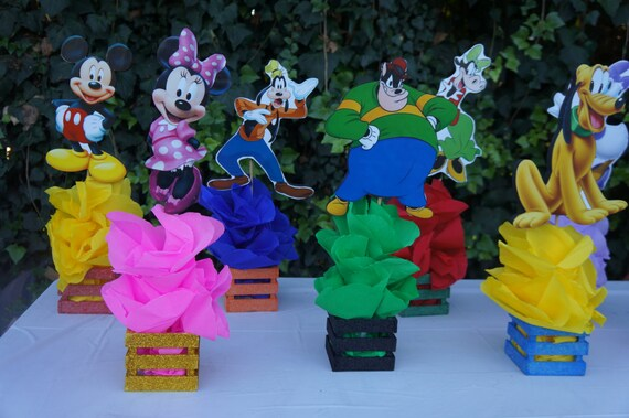 Mickey Mouse Clubhouse Friend Birthday Party Guest Table