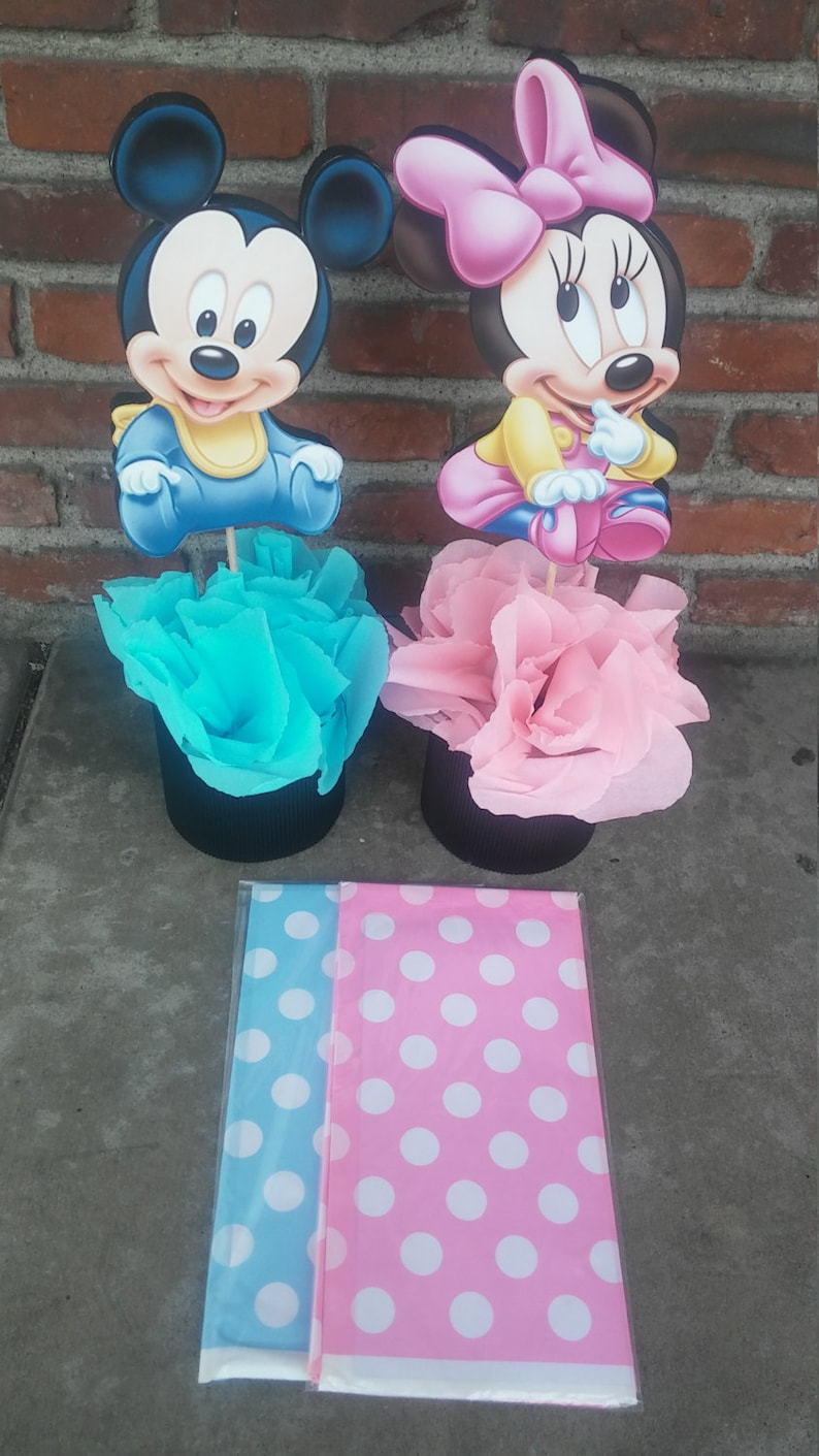 Mickey minnie mouse baby shower themes