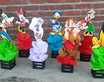 Mickey Mouse Clubhouse Friends birthday Party Guest Table