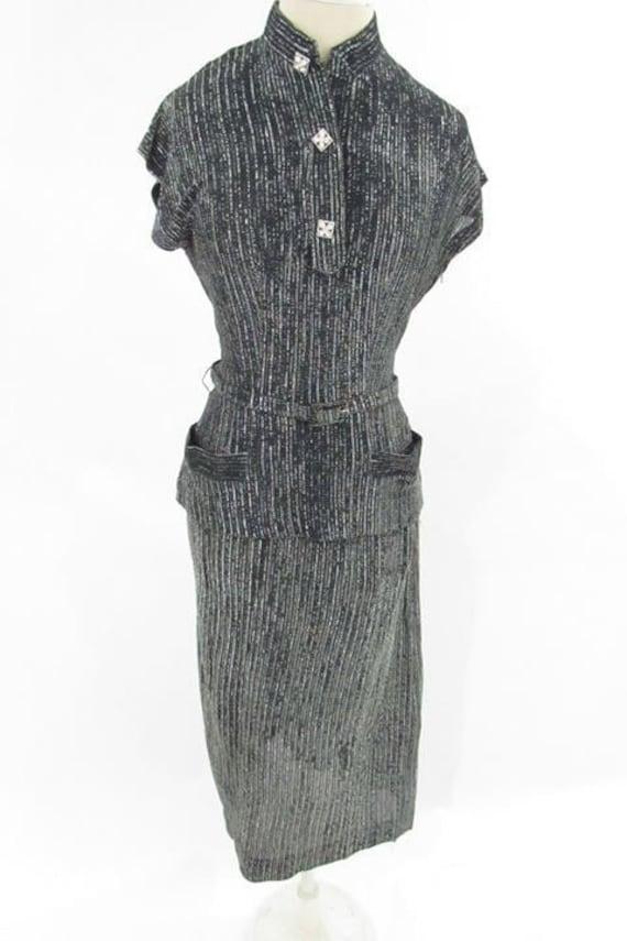 Stunning 1960s lurex suit // vintage lurex suit /… - image 1