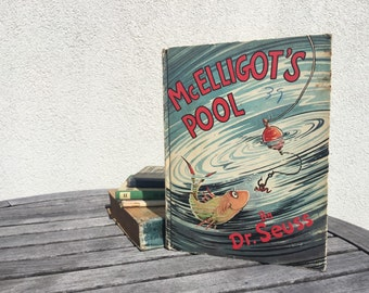 McElligot's Pool - Vintage McEligot's Pool - Dr. Seuss - Vintage Dr. Seuss