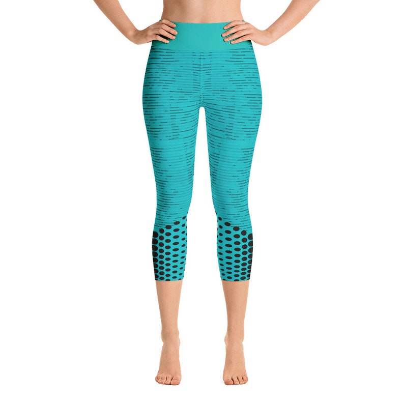 DotsAllTheWay Yoga Capri Leggings image 0