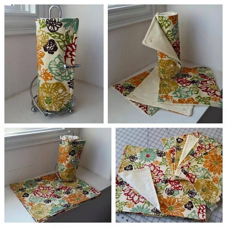 Set of Reusable Paper Towels image 0