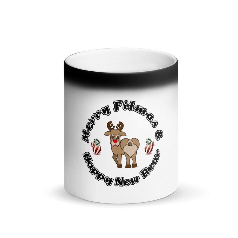 Matte Black Magic Mug image 0