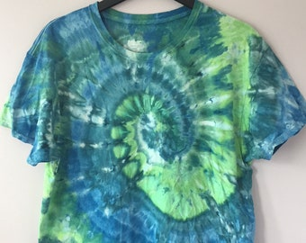 Ice Dyed Mens Top, Size XL, #184
