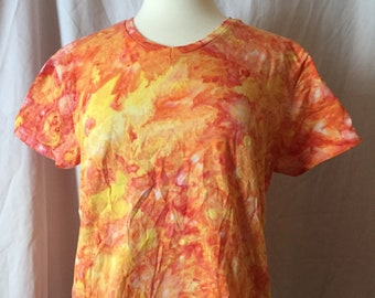Ice Dyed Ladies Top, Size Large, #179