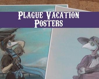Plague Vacation Posters