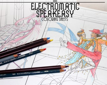 Electromatic Speakeasy - Downloadable Coloring Pages
