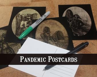 Plague Postcards
