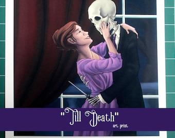 Till Death - art print